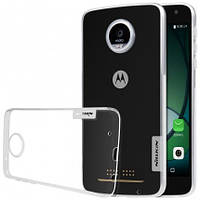 TPU чехол Nillkin Nature для Motorola Moto Z Play (Бесцветный)