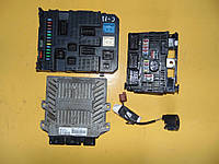 Комплект ЭБУ ЕБУ блок управления двигателем 5WS40615C-T Фиат Фіат Скудо Fiat Scudo 2.0 (3) HDI с 2007 г. в.