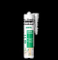 Герметик акриловый  CS 11 Ceresit Akryl (белый)  280мл  д/нар.раб.