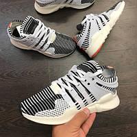 """Кроссовки Adidas EQT Support ADV Primeknit """"Zebra"""" мужские"""
