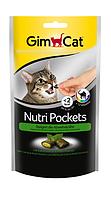 GimCat Nutri 60г - хрустящие подушки для кошек с кошачьей мятой (400723 )