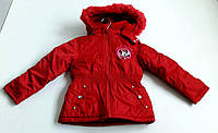 Детские куртки для девочек Disney (размерный ряд)