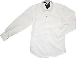 Рубашка школьная на мальчика ivory (айвори) ТМ Lagard Kids размер 134 140