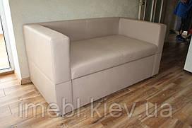 Кухонный диван со спальным местом по рзмеру кухни (Бежевый)