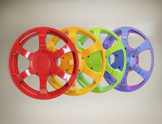 Порошковая покраска дисков, фото 2