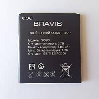 Аккумулятор для Bravis Solo (1400 mAh), фото 1