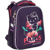 Рюкзак Kite HK17-531M 2553 Hello Kitty школьный каркасный детский для девочек