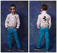 Детские брюки из льна (унисекс)
