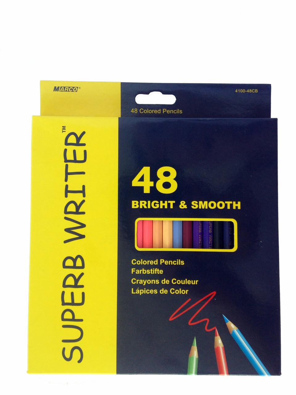 """Цветные карандаши """"Marco"""" 48 цветов"""