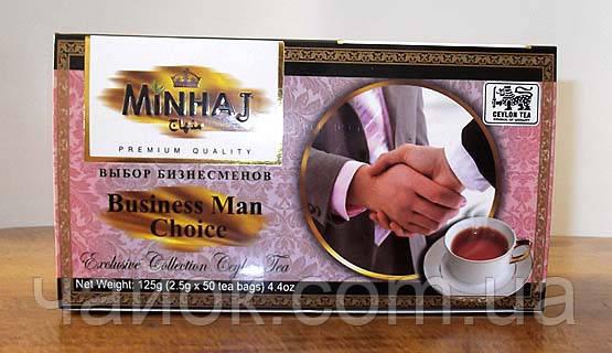 Чай черный Минхадж  Выбор Бизнесменов в пакетиках 50Х2