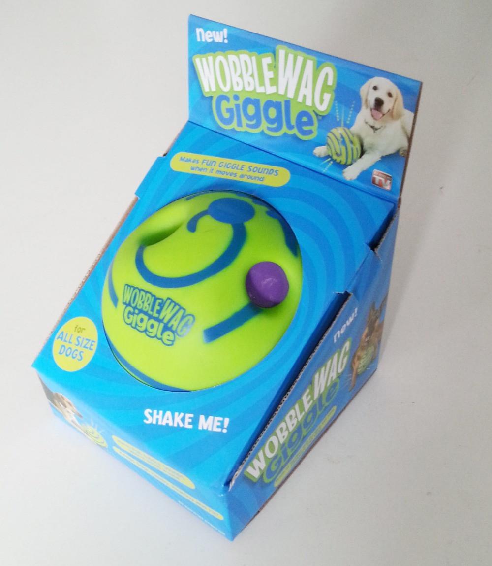 Игрушка для собак мяч хихикующий Wobble Wag Giggle FC - Оптом 24 в Одессе