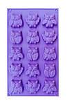 Форма силиконовая Совы из 15 шт