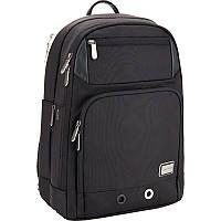 Рюкзак Kite&More-1 K17-1015M-1 школьный, для студентов, поездок  черный