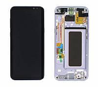 Дисплей Samsung G955 Galaxy S8 plus с сенсором Фиолетовый Серый Violet Orchid Gray оригинал , GH97-20470C