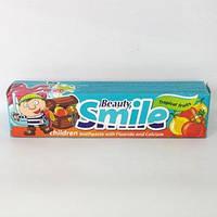 """Детская зубная паста """"Beauty Smile 4+ """"50 мл тропические фрукты"""