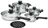 Набор посуды Calve CL-1030, 9 предметов
