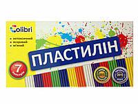 "Пластилин 7 цветов ""Colibri"""