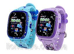 Детские умные часы Q100 Aqua GPS(Df25) водонепроницаемые