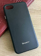 Черный TPU чехол-накладка IPAKY для Iphone 7 и Iphone 8, фото 1