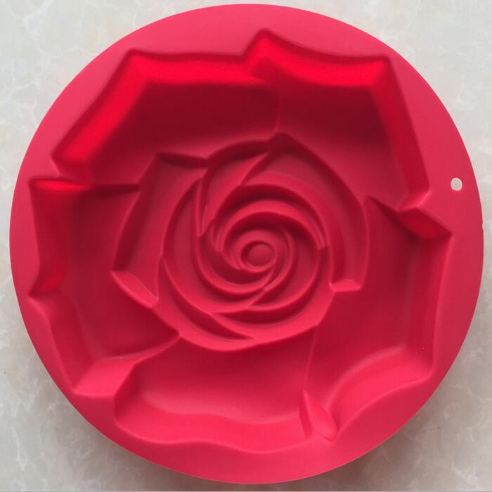 """Форма силиконовая для выпечки """"Роза"""" диаметр 29 см"""
