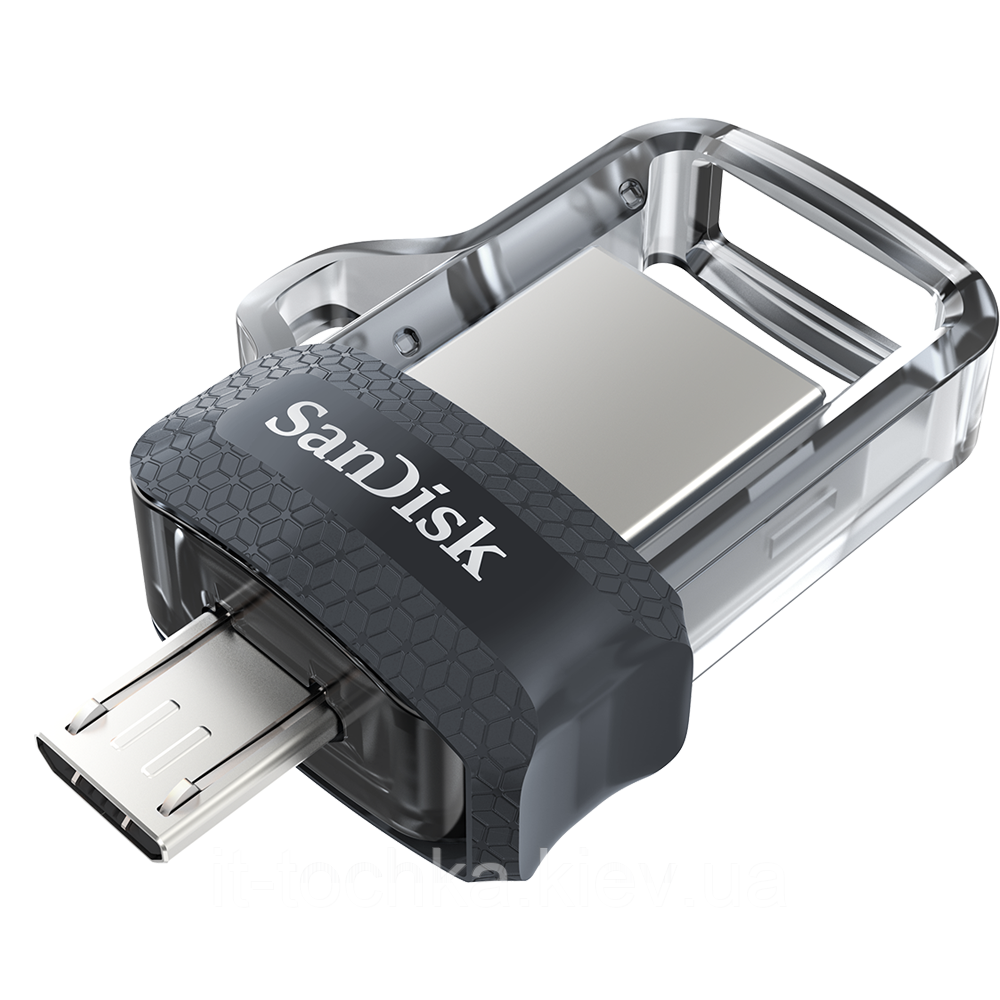 Usb 3.0 флеш otg sandisk 64 Гб ultra dual drive m3.0 white gold (sddd3-064g-g46gw)