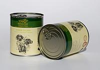 Консервы Hubertus Gold для собак птица и рис, 800 г