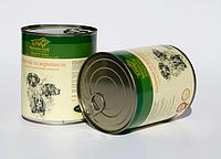 Консервы Hubertus Gold для собак индейка с вермишелью, 800 г