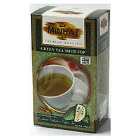 Чай Minhaj Sour Sop Green Tea с саусеп 100 гр