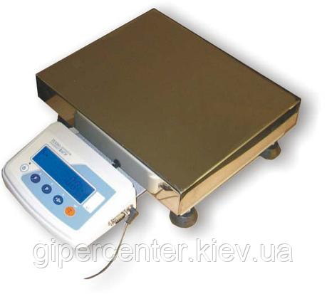 Весы лабораторные электронные ТВЕ-30-0,5 до 30кг точность 0.5г, фото 2