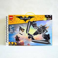 """Конструктор MWS 81905 The Batman Movie """"Поединок в небе на Бэтоплане"""" 420 дет."""