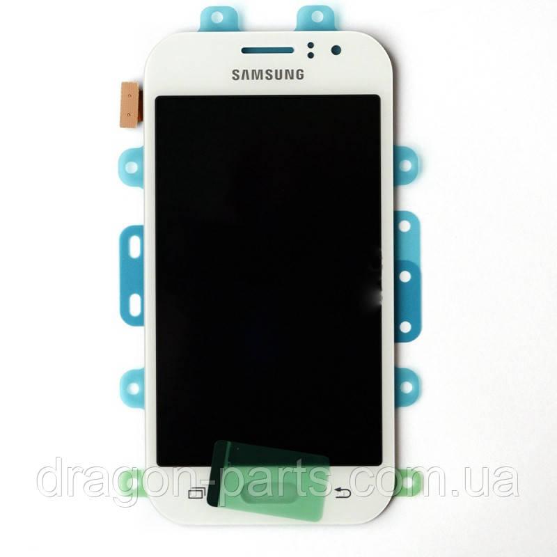 Дисплей Samsung J110 Galaxy J1 с сенсором Белый White оригинал , GH97-17843A