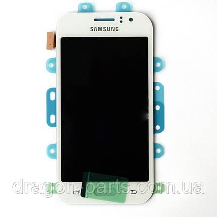 Дисплей Samsung J110 Galaxy J1 с сенсором Белый White оригинал , GH97-17843A, фото 2