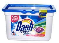 Капсулы для стирки DASH COLOR 40 шт в уп