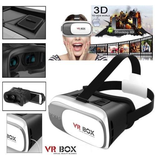 3D очки виртуальной реальности VR BOX + пульт-джойстик bluetooth