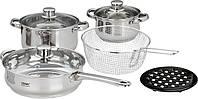 Набор посуды Calve CL-1065 , 9 предметов