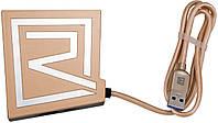 USB-концентратор Remax Rhyden Series 3U Hub RU-U7 Gold