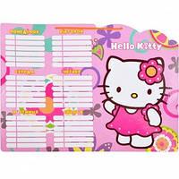 "Расписание уроков картон ""Hello Kitty"""