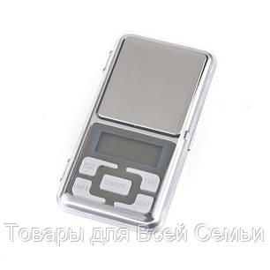 Карманные ювелирные электронные весы 0,01-200 гр, фото 2