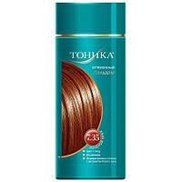 Оттеночный бальзам для волос Тоника 7.35 Золотой орех