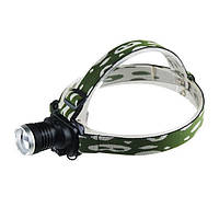Налобный фонарь Police Bailong BL-6809 12000W, мощный аккумуляторный светодиодный фонарик, фонарик на голову
