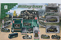 Армейский гараж +3 машинки