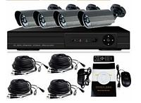 Комплект видеонаблюдения DVR KD-6604kit