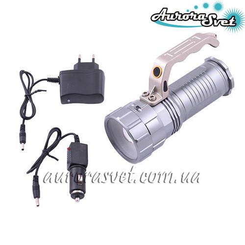 Фонарь аккумуляторный AuroraSvet-10 ручной