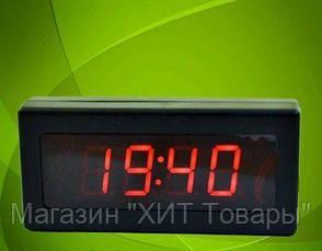 Электронные настольные часы Caixing CX 919 (red), фото 2