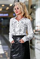 Офисная женская блуза 2303 Seventeen 44-50 размеры