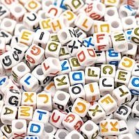 Бусины алфавит