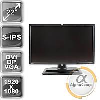 "Монитор 22"" HP ZR22w (S-IPS/16:9/VGA/DVI/DP/USB/FullHD) class A б/у"