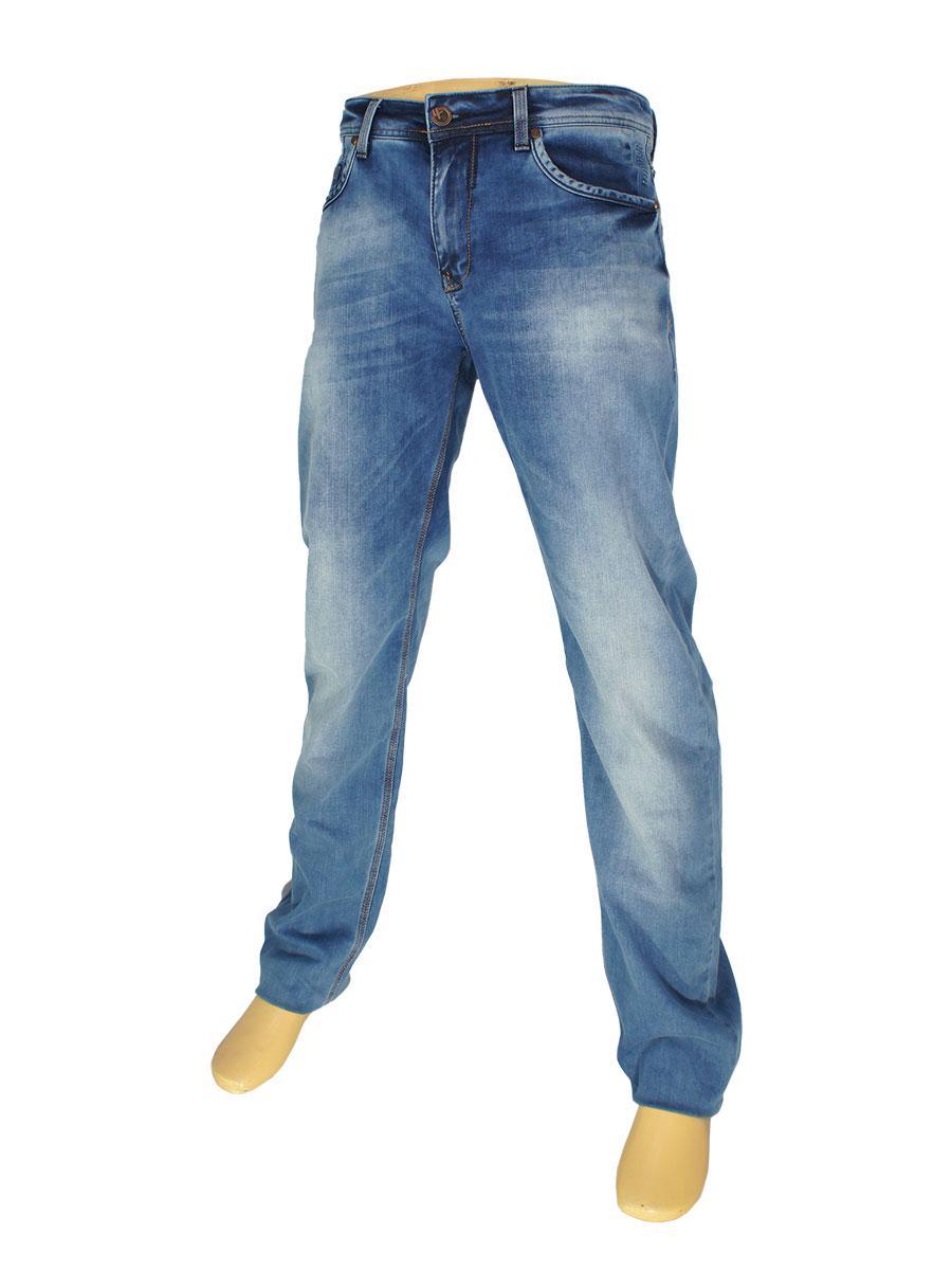 Блакитні чоловічі джинси X-Foot 140-2212