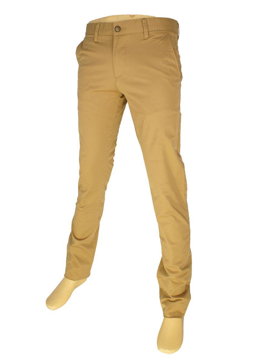 Стильні чоловічі джинси X-Foot 7012-4658 у світло-коричневому кольорі