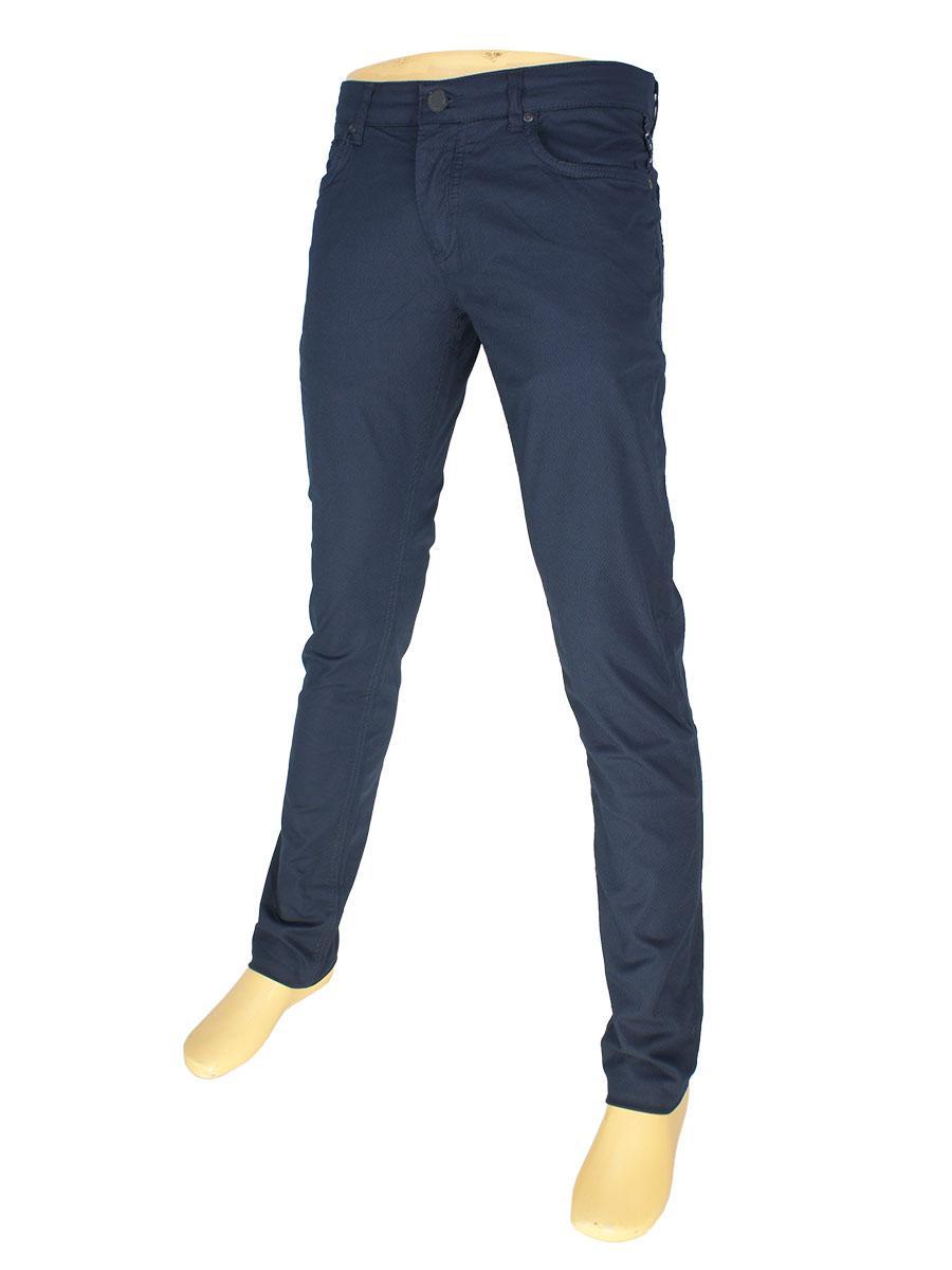 Чоловічі джинси X-Foot 262-7033 темно-синього кольору